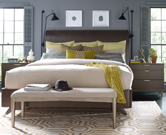 Rachael Ray Home Soho collection available at Jordan's Furniture stores in CT, MA, NH, and RI