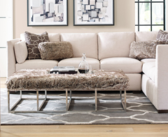 Rachael Ray Home Upholstery collection available at Jordan's Furniture stores in CT, MA, NH, and RI