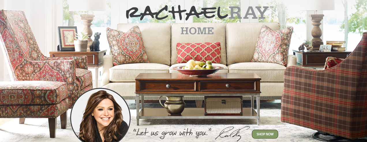 Rachael Ray Home Highline collection available at Jordan's Furniture stores in CT, MA, NH and RI