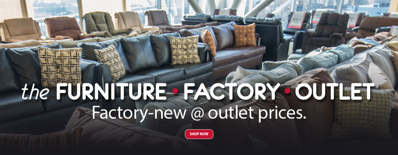 Furniture Factory Outlet at Jordan's Furniture stores in CT, MA, NH and RI