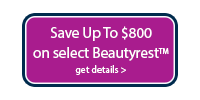 Save up to $800 on Beautyrest® Silver™, Platinum™, Platinum™ Advanced Hybrid/ Best of Both Worlds®, and SmartMation™ bases