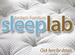Jordan's Sleep Lab at Jordan's Furniture