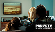 Paul's TV in Jordan's Furniture stores in MA, NH and RI
