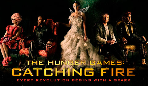 Hunger Games Catching Fire in IMAX at Jordan's Furniture in Natick and Reading