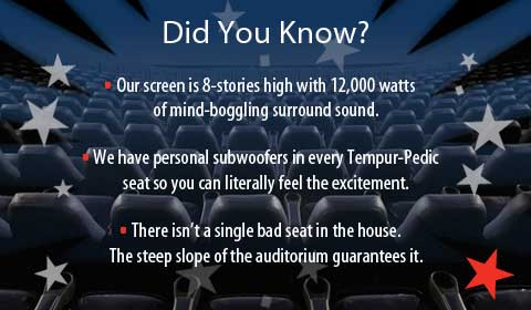 Access movie theater