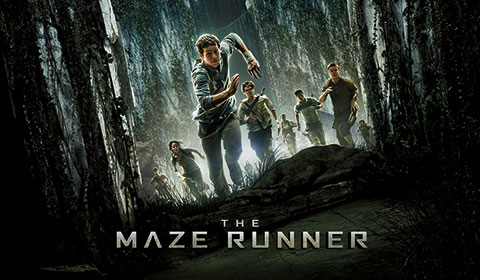Maze Runner in IMAX at Jordan's Furniture stores in MA, NH, and RI