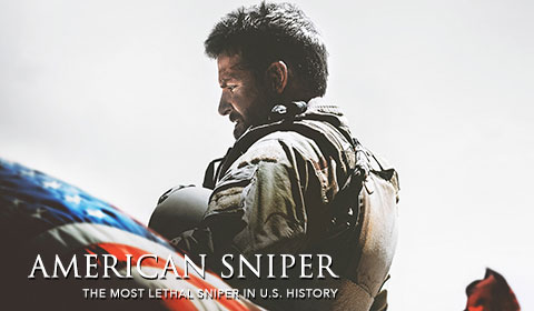American Sniper in IMAX at Jordan's Furniture in Natick and Reading
