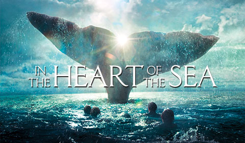 In The Heart of the Sea in IMAX at Jordan's Furniture in Natick and Reading
