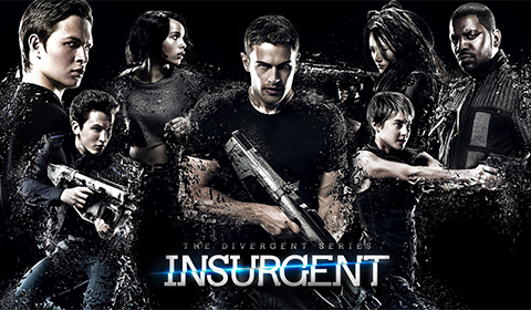 Insurgent in IMAX 3D in Jordan's Furniture in Natick and Reading