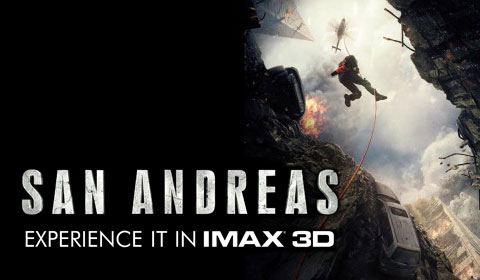 San Andreas in IMAX at Jordan's Furniture in Natick and Reading
