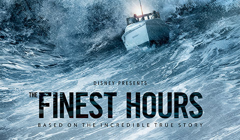The Finest Hours in IMAX at Jordan's Furniture in Natick and Reading