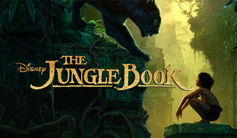 The Jungle Book in IMAX at Jordan's Furniture in Natick and Reading