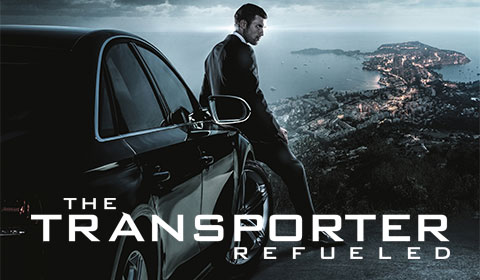 Transporter Refueled in IMAX at Jordan's Furniture in Natick
