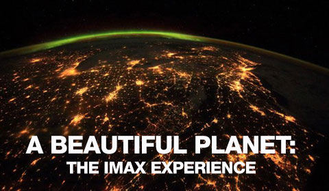 A Beautiful Planet in IMAX 3D at Jordan's Furniture in Natick and Reading Ma
