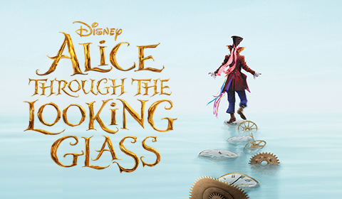 Alice Through The Looking Glass in IMAX 3D at Jordan's Furniture in Natick and Reading Ma