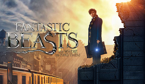 Fantastic Beast and Where To Find Them at the IMAX 3D movie theaters in Jordan's Furniture in Natick and Reading Ma