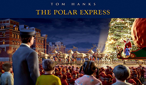 Polar Express in IMAX 3D at IMAX movie theaters at Jordan's Furniture in Natick and Reading Ma