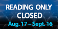 Reading IMAX Theater at jordan's Furniture will be closed August 17th through September 16th