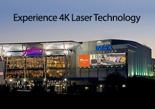 Experience 4K Laser Technology at IMAX in Jordan's Furniture in Readin, MA