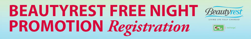 Beautyrest Free Night Promotion Registration