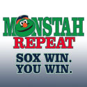 Sox Win, You Win. THe Monstah Repeat at Jordan's Furniture stores in MA, NH and RI
