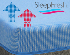 Sleep Fresh Mattresses at Jordan's Furniture stores in CT, MA, NH and RI