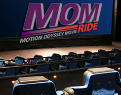 MOM 4D Motion Odyssey Movie Ride at Jordan's Furniture in MA, NH and RI
