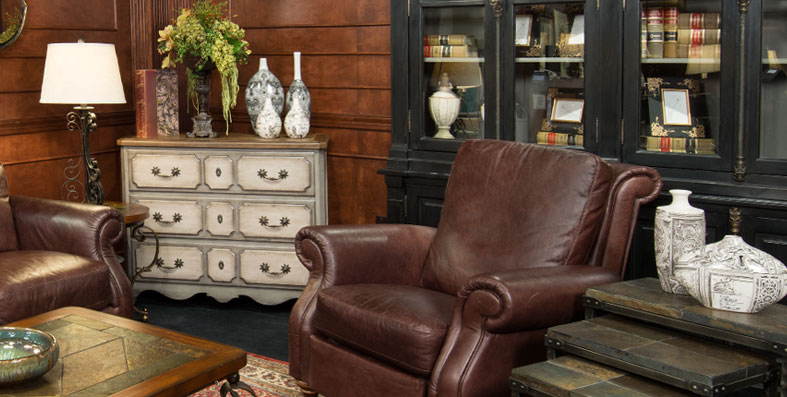 Accent furniture for sale at Jordan's Furniture stores in MA, NH, RI and CT
