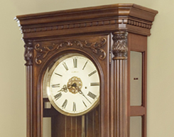 Accent clocks for sale at Jordan's Furniture stores in MA, NH and RI