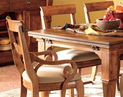 Dining room seating for sale at Jordan's Furniture stores in MA, NH and RI
