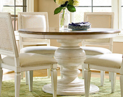 Dining room table for sale at Jordan's Furniture stores in MA, NH and RI