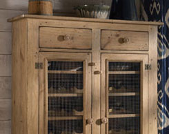 Dining room bars and wine storage furniture for sale at Jordan's Furniture stores in MA, NH and RI