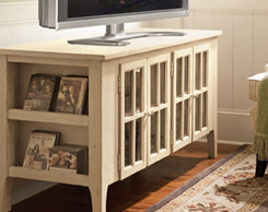 Entertainment room consoles for sale at Jordan's Furniture stores in MA, NH and RI