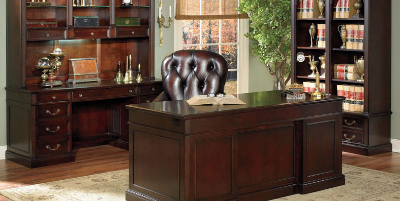 Home office furniture for sale at Jordan's Furniture stores in MA, NH and RI