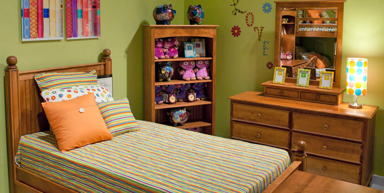 Kids' room furniture for sale at Jordan's Furniture stores in MA, NH and RI