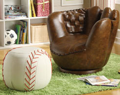 Kids' room accent furniture for sale at Jordan's Furniture stores in MA, NH and RI