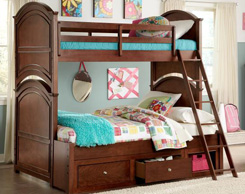 Kids room bunk beds for sale at Jordan's Furniture stores in MA, NH and RI