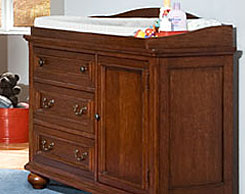 Kids room changing tables for sale at Jordan's Furniture stores in MA, NH and RI