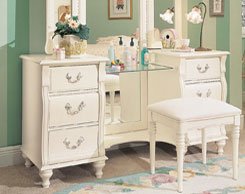 Kids room vanities for sale at Jordan's Furniture stores in MA, NH and RI