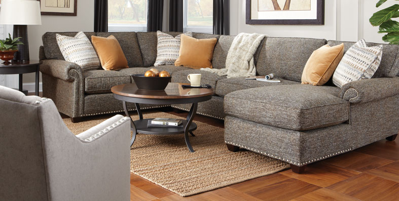 Living Room Furniture Sets piedmont gray 2 pc sectional living room sets living room suites