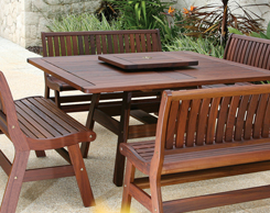 Outdoor Patio Dining Tables for sale at Jordan's Furniture stores in MA, NH and RI