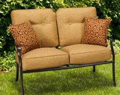 Outdoor Patio Loveseats for sale at Jordan's Furniture stores in MA, NH and RI