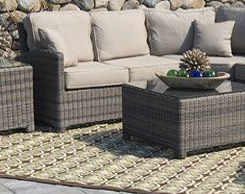 Outdoor Patio Rugs for sale at Jordan's Furniture stores in MA, NH and RI