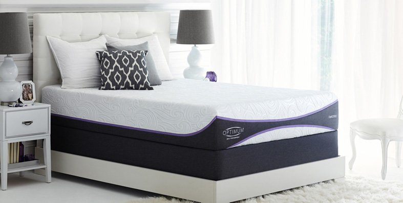 Sealy Optimum mattresses for sale at Jordan's Furniture stores in MA, NH and RI