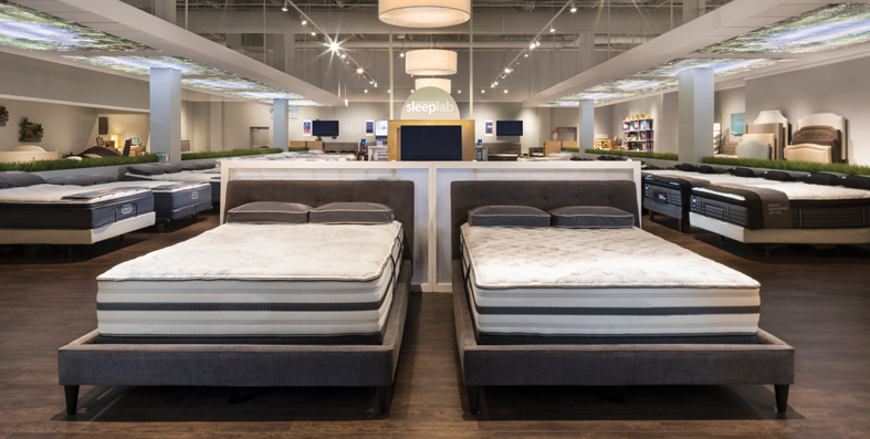 Shop our mattress brands at Jordan's Furniture stores in CT, MA, NH and RI