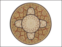 8' round Dining Room area rug on sale at Jordan's Furniture stores in CT, MA, NH, and RI