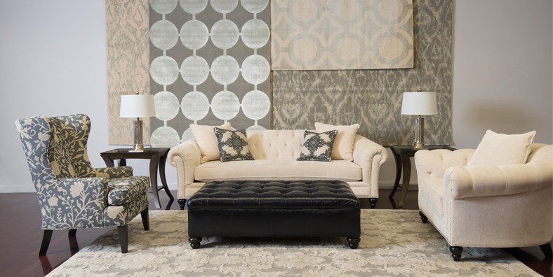Living Room Furniture Nh how to select the right sized rug for your bedroom, dining room