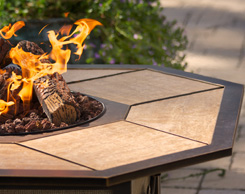 Outdoor patio fire pits for sale at Jordan's stores in MA, NH and RI
