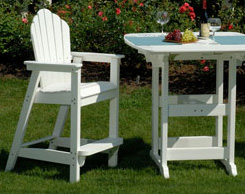 Outdoor patio sofas and bar stools for sale at Jordan's stores in MA, NH and RI