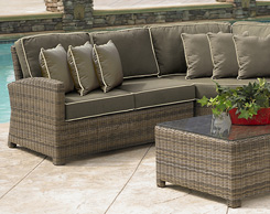Outdoor patio sofas and sectionals for sale at Jordan's stores in MA, NH and RI